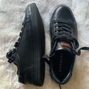 Coach Leather Sneakers/ Unisex